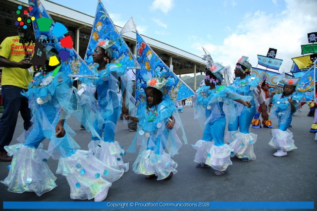 Francois Illas New Tradition: Republic Bank Junior Parade Of The Bands 2018