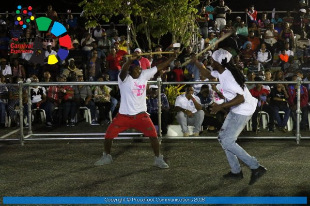 Francois Illas New Tradition: National Stickfighting Finals 2018