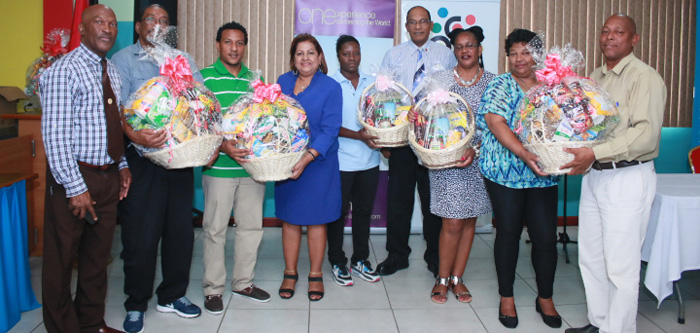 National carnival commission of trinidad and tobago ncc representatives of the national carnival commission and caribbean airlines celebrate alongside the nine outstanding recipients from regional carnival malvernweather Gallery