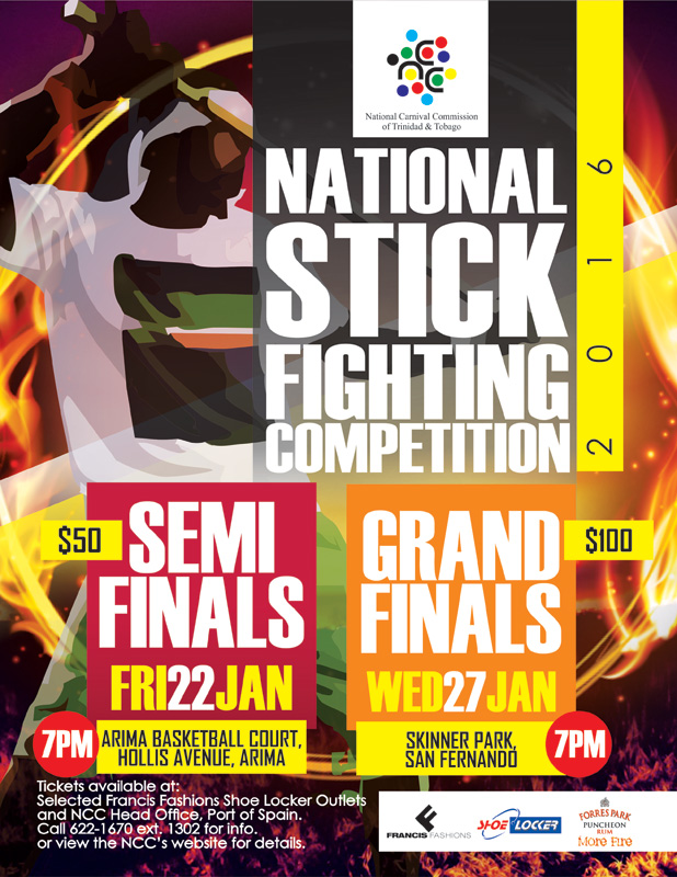 National carnival commission of trinidad and tobago ncc national stick fighting competition 2016 malvernweather Gallery