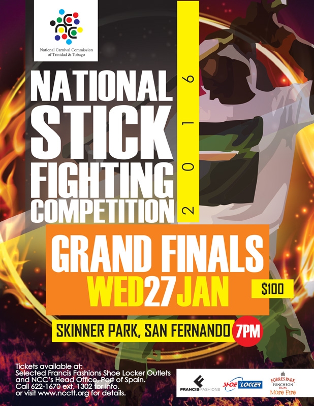 National carnival commission of trinidad and tobago ncc national stick fighting competition finals 2016 malvernweather Gallery