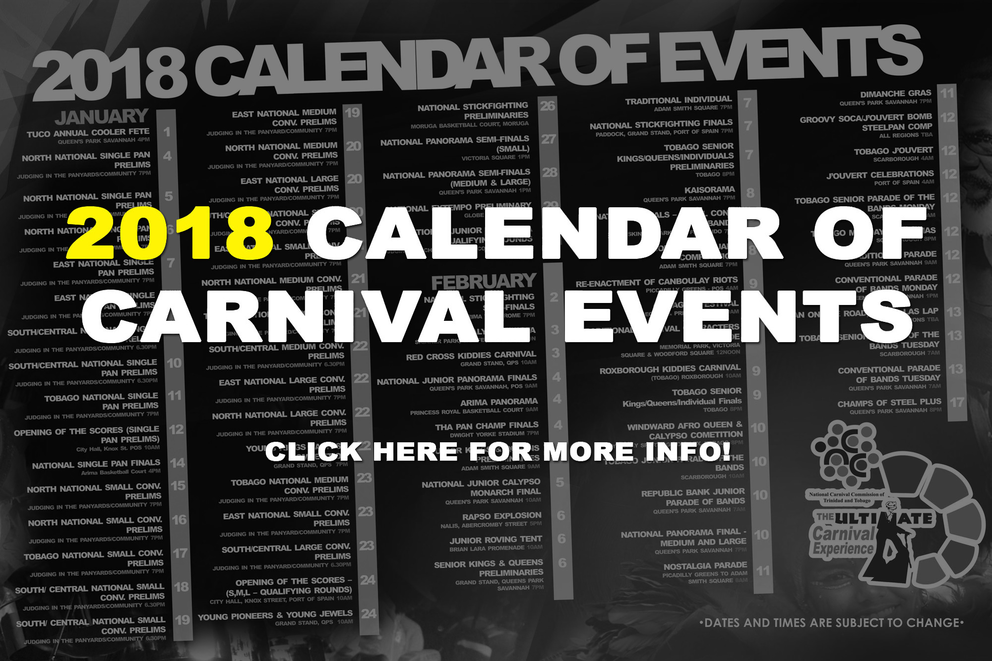 National Carnival Commission Of Trinidad And Tobago Ncc